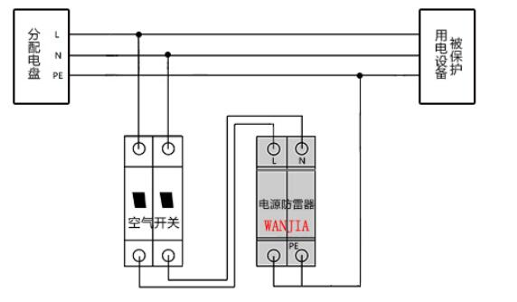 充电站(桩)单相 电源电涌保护器
