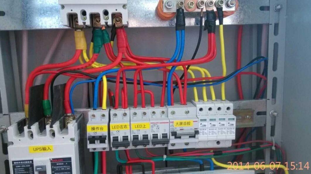 济源市工商局机房电源三级防雷接地工程